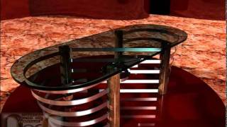 Furniture Review: Ripples-assf Contemporary Glass Coffee Table