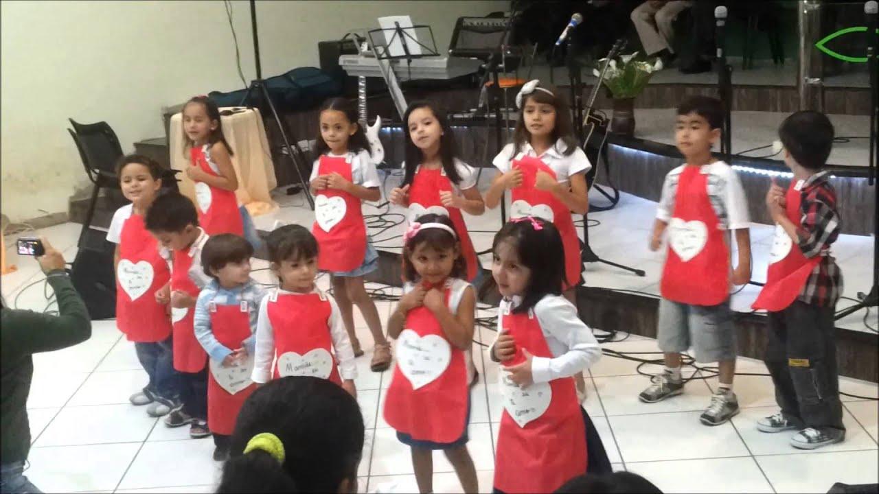 Coreografia Homenagem Dia Das Mães ...crianças