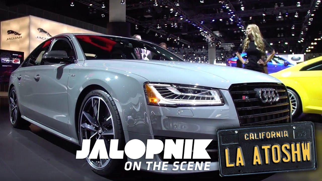 Every Car At The LA Auto Show Should Have Come In Audis Colors - Audi car colors