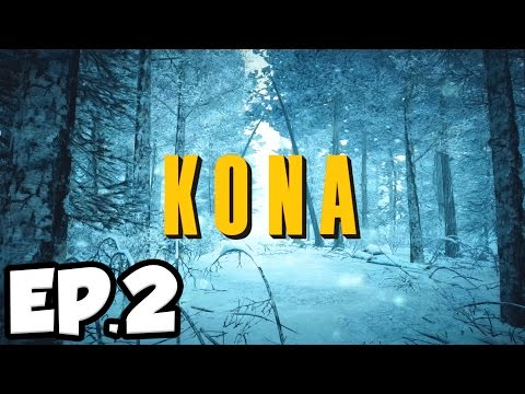 Kona Ep.2 - GENERAL STORE & MAN FROZEN IN ICE!!! (Let's Play / Gameplay)