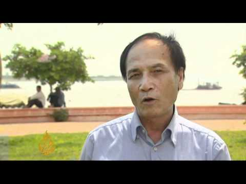 Dwindling numbers of Mekong dolphins