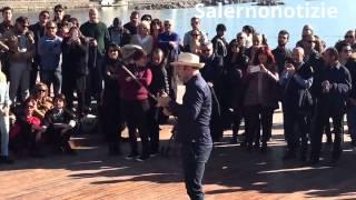 Salerno: musica e balli alla Spiaggia di Santa Teresa