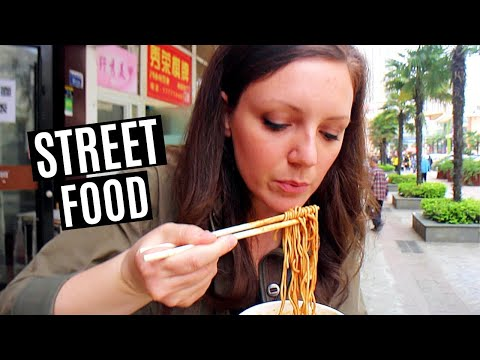 BEST STREET FOOD in WUHAN, CHINA (VEGAN)