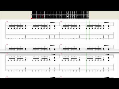 One  - Metallica (Studio Version) - Tab Partitura HD