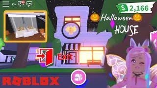 Halloween House Party Maze Design ideas & Building hacks | Roblox Adopt Me