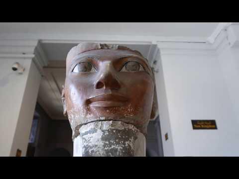 EGYPT: CAIRO EGYPTIAN MUSEUM - SEPTEMBER 2017