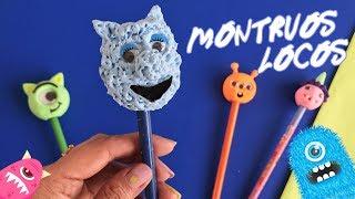 Monstruos de Foamy Moldeable (Goma Eva) divertidos y muy fáciles