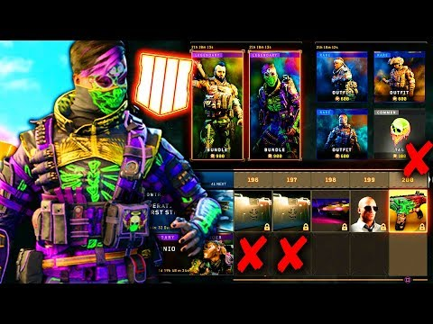 Black Ops 4: The Fatal Problems With Blackjack's Shop & The Current Supply Stream