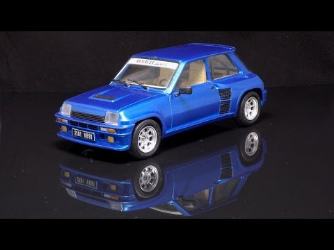 renault 5 turbo 1 24 tamiya 1984 youtube. Black Bedroom Furniture Sets. Home Design Ideas