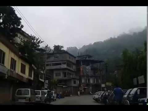 Kamakhya Temple Yatra - Crossing Trinath Mandir On Kamakhya Road Nilachal Parvat Guwahati