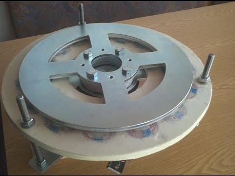 test scheibengenerator am windrad lenz2 rotor ca 1 w doovi. Black Bedroom Furniture Sets. Home Design Ideas
