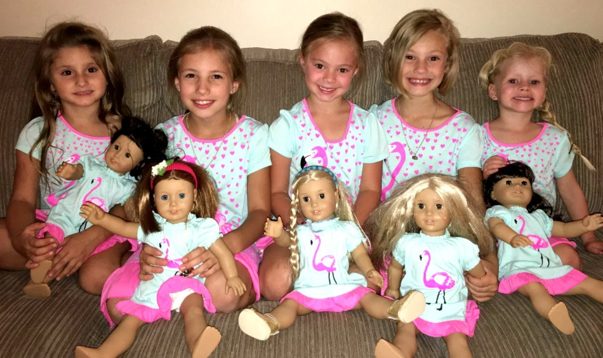 American Girl Doll Party Youtube