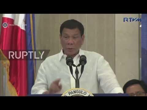 Vietnam: Filipino president terminates joint US drills, announces Russia trip