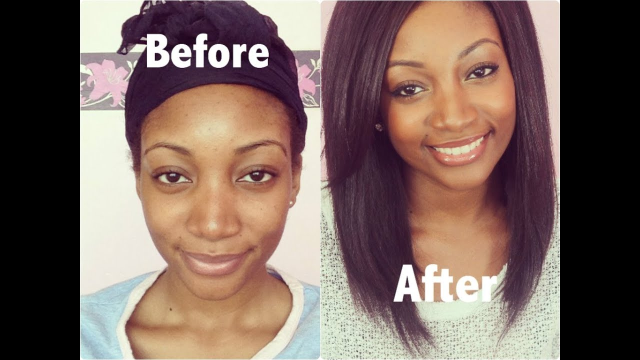 Natural looking makeup tutorial for black women
