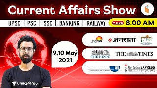 8:00 AM - 9 \u0026 10 May 2021 Current Affairs   Daily Current Affairs 2021 by Bhunesh Sir   wifistudy