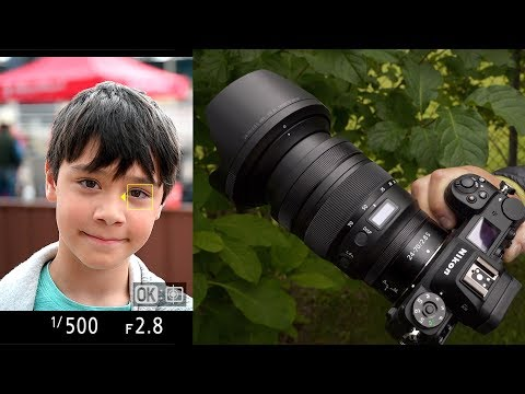 DPReview TV: Nikon Z6 And Z7 Eye-Autofocus Tested