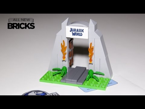 Lego Jurassic World Gate Toys R Us Speed Build