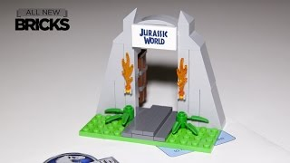 Lego Jurassic World Gate Toys R Us Speed Build
