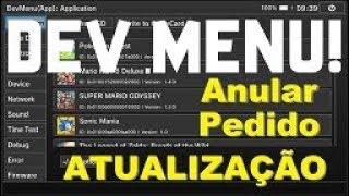 Como Anular o Pedido de Atualização dos Jogos de Nintendo Switch Com DevMenu
