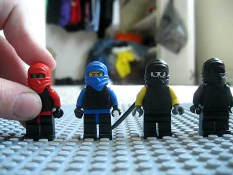 All of my Lego Mortal Kombat charactars - YouTube