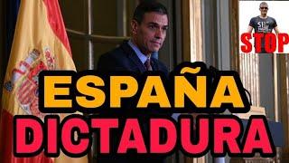 SÓLO UN IDIOTA PUEDE NO HABERSE DADO CUENTA aún. ESPAÑA ES UNA DICTADURA.