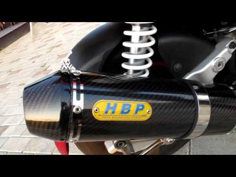 VJR HBP M1碳纖維鯉魚嘴 直通管 聲音檔(有消音塞)   Doovi