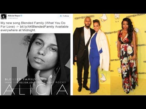 "Alicia Keys Dedicates her new song ""Blended Family"" to Mashonda~ Social Media GOES IN"