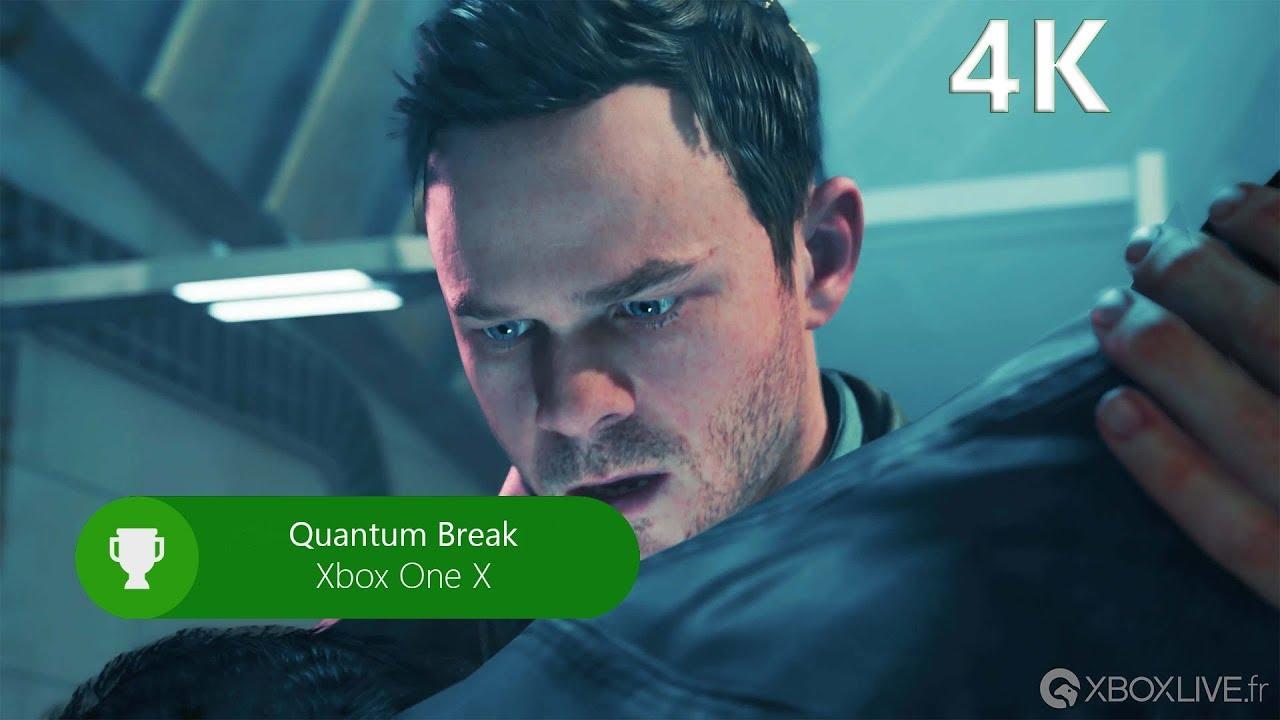 Quantum Break sur Xbox One X [4K] - YouTube