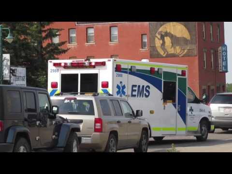 *NEW* Alberta Health Services EMS Ambulance 2988 On scene
