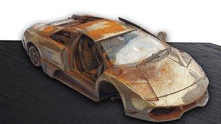 Restoration Abandoned Lamborghini Murcielago Model Car