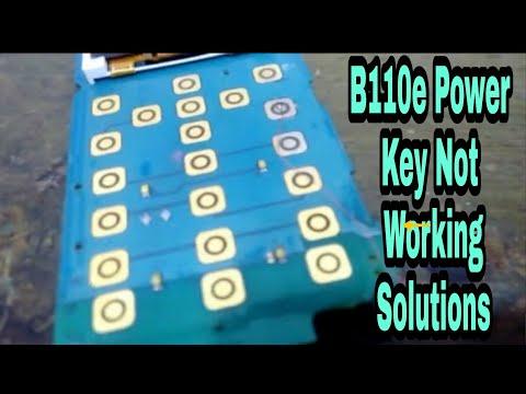 samsung b110e power key solution,100%