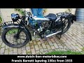 Francis Barnett lapwing 150cc from 1933