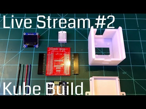 BK Hobby Live Stream #2 - Building a Kube multisensor Live + ESP Easy  Introduction
