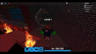 Roblox Flood Escape 2 Procédure pas à travers à Insane ruines familières et la faculté abandonnée