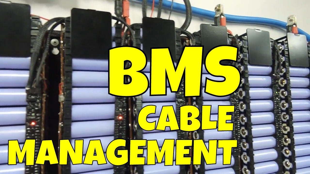Cable management win with the Batrium BMS installed and looking ...
