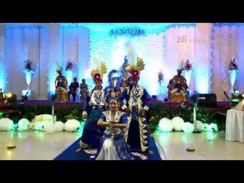 Kipas Batuta Dance Kontemporer  on The Wedding Tya & Eryo
