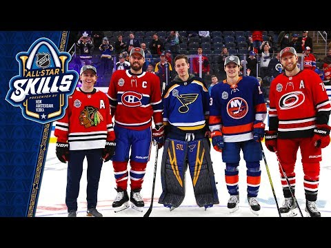 Best moments from the 2020 NHL All-Star Skills competition