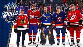 Best moments from the 2020 NHL All Star Skills competition