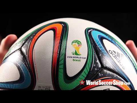 Adidas Brazuca 2014 FIFA World Cup Official Match Ball - Unboxing