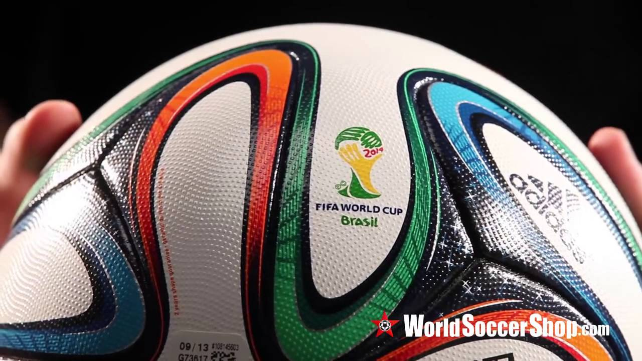 reputable site d3438 00ed3 adidas Brazuca 2014 FIFA World Cup Official Match Ball - Unboxing - YouTube
