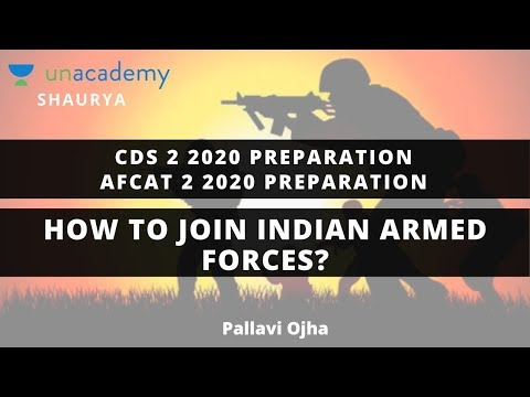 how-to-join-indian-armed-forces?-|-cds-2-2020-preparation-|-afcat-2-2020-preparation