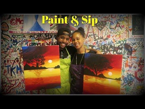 Paint & Sip 🎨