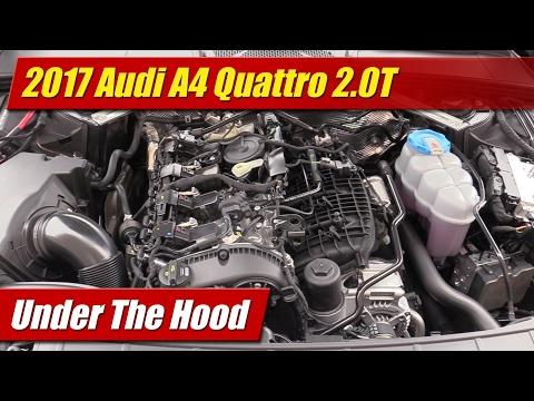 Under The Hood: 2017 Audi A4 2.0T Quattro - YouTube | Audi B5 S4 Engine Bay Diagram |  | YouTube