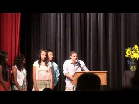 Watson Junior High School Awards Program 2013