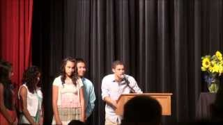 Watson Junior High School Awards Program 2013