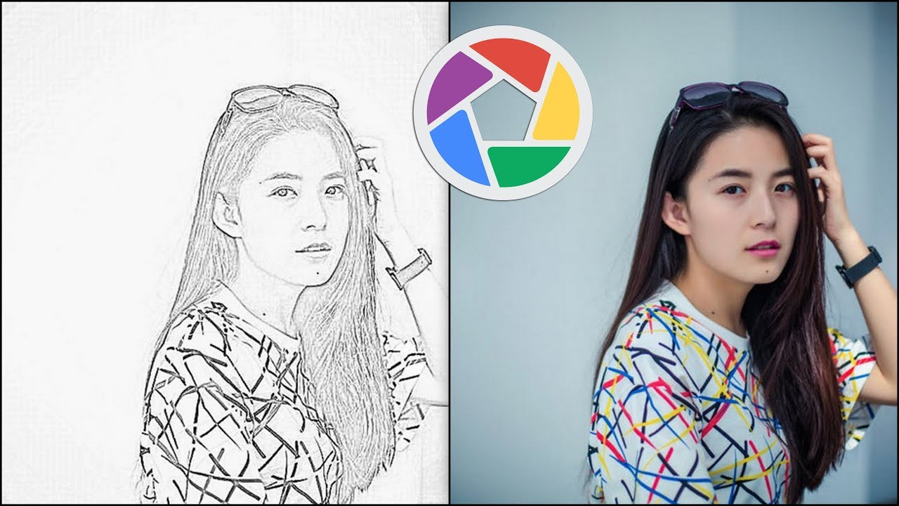 Picasa the pencil sketch effect free video editing tutorial for beginners