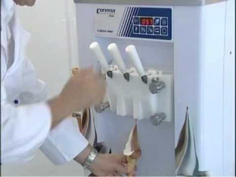 telme corema macchine per gelato espresso soft ice cream garda.wmv