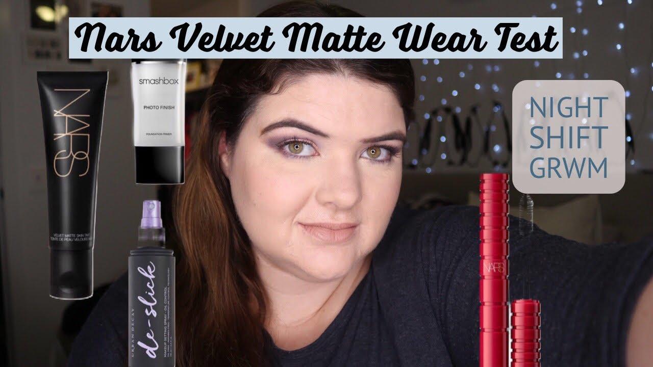 f0fe4a37436 Nars Velvet Matt Skin Tint Wear Test  Part 2 - YouTube