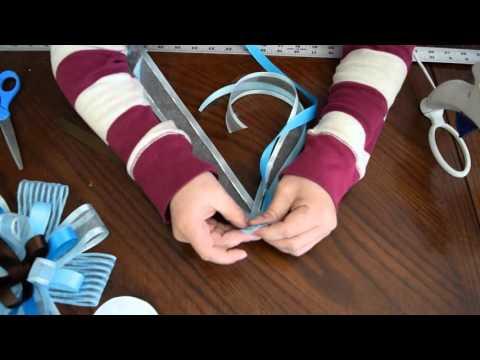 como hacer un corsage para baby shower facil y rapido youtube