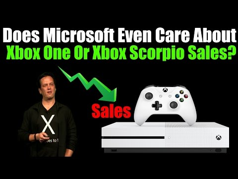 Does Microsoft Even Care About Xbox One Or Xbox Scorpio Console Sales?